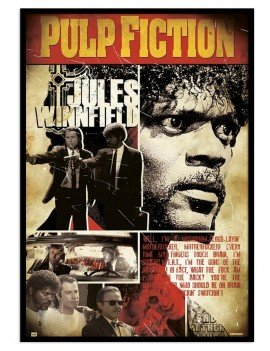 Cuadro Pulp Fiction