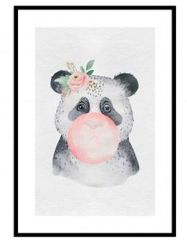 Cuadro panda globo...