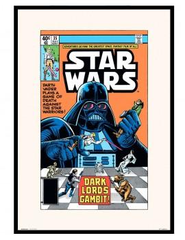 LAMINA ENMARCADA Star Wars ESPECIAL EDICION COMIC .