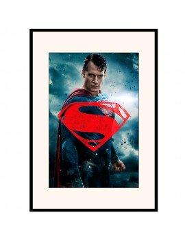 "LAMINA ENMARCADA ""Superman..."