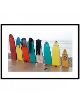 Cuadro Tablas de Surf.