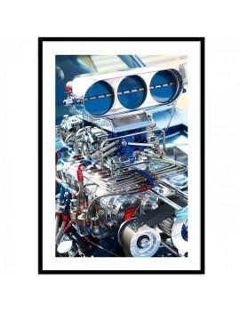 Cuadro fotografía Motor...