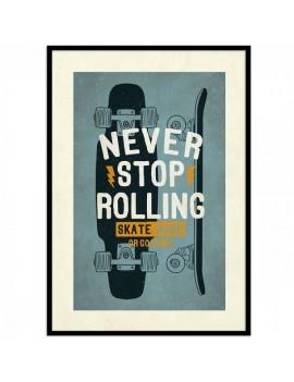 "Cuadro skaters.""Never Stop..."