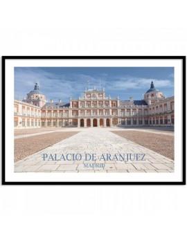 Cuadro el Palacio de Aranjuez.