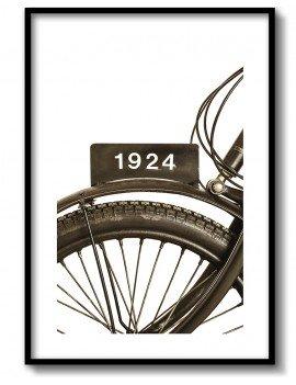Cuadro Bicicleta Antigua