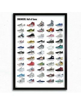 Cuadro Sneakers Hall of Fame