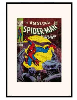 LAMINA ENMARCADA SPIDERMAN (EDICION ESPECIAL COMIC) VOLUMEN 1-70