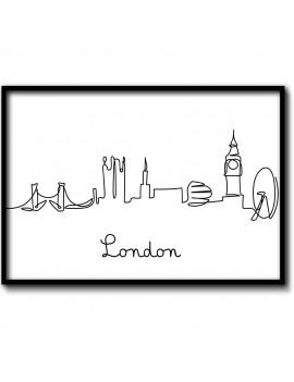 Cuadro Ilustración de Londres