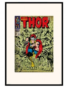 lámina enmarcada Thor Comic...