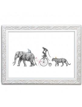 Cuadro Ilustración de Animales