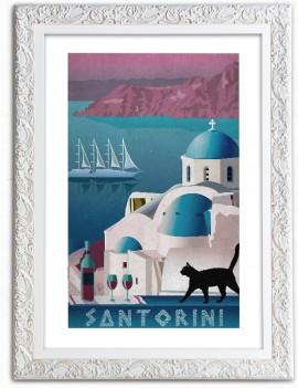 Cuadro de Santorini