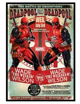 Cuadro Deadpool Marvel