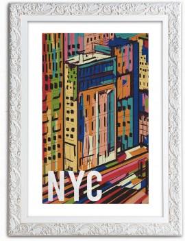 Cuadro Ilustración de NYC