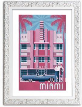 Cuadro Miami Vintage