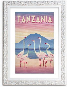 Cuadro Ilustración de Tanzania
