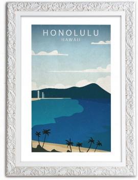 Cuadro Honolulu Hawaii
