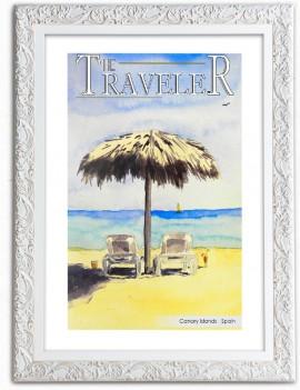 Cuadro The Traveler