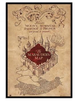 Cuadro Harry Potter Mapa del Merodeador.