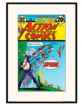 Portada comic DC retro
