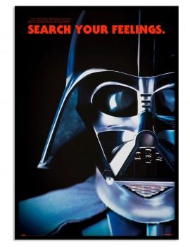 LAMINA ENMARCADA DARTH VADER Star Wars. LICENCIA. PERSONAJE PRINCIPAL DE LA SAGA.