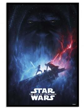 LAMINA ENMARCADA LICENCIA Star Wars ¨EL ASCENSO DE SKY WALKER¨.AÑO 2019 episodio IX.
