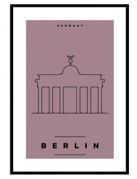 Cuadro Berlin color