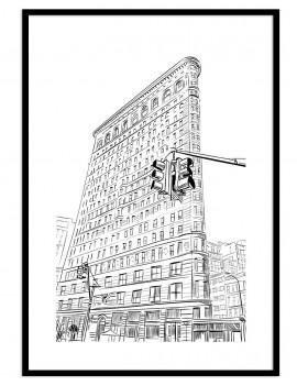 Cuadro New York .Edificio...