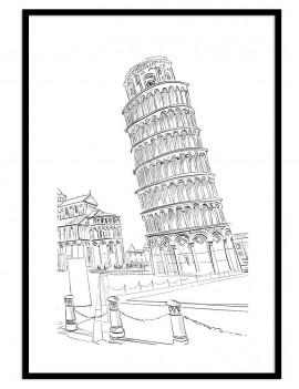 """Cuadro de la """"torre de..."""
