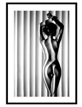 Cuadro fotografía desnudo