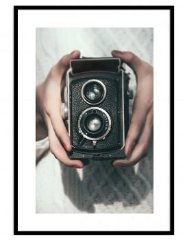 Cuadro fotografía camara