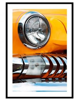 Cuadro fotografía coche retro