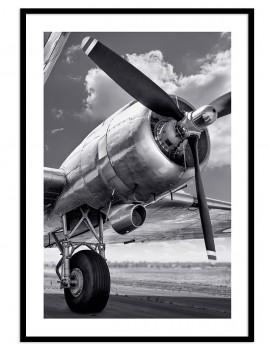 Cuadro fotografía avión