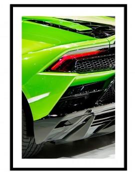 Cuadro fotografía coche deportivo.