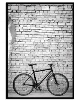 Cuadro fotografía bicicleta