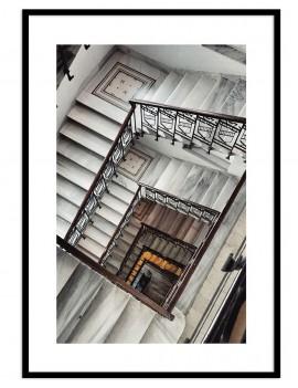 Cuadro fotografía escaleras