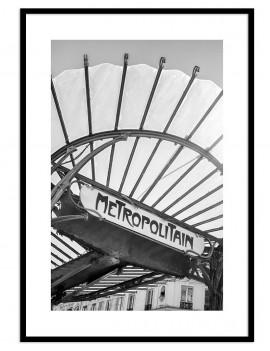 Cuadro fotografía blanco y negro
