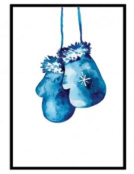 Cuadro infantil guantes